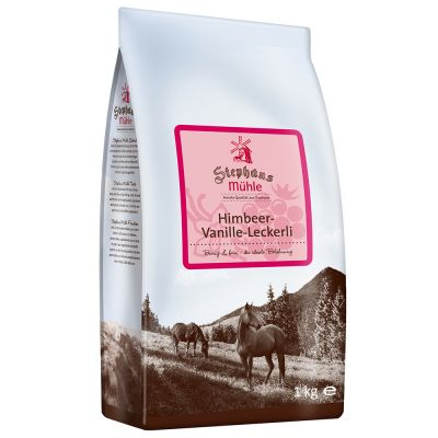 Stephans Mühle Paardensnack Framboos-Vanille - 1 kg