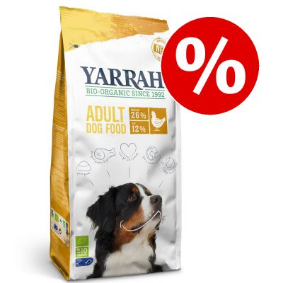 15 % alennusta: Yarrah Bio Adult Organic Chicken -kuivaruoka 15 kg - Yarrah Bio Chicken & Grains (15 kg)