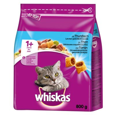 Whiskas 1+ Tuna – 800 g