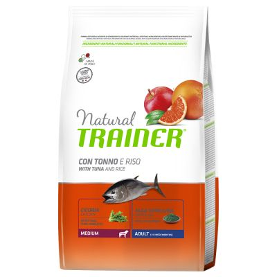 Trainer Natural Adult Medium con atún y arroz  - 2 x 12 kg - Pack Ahorro