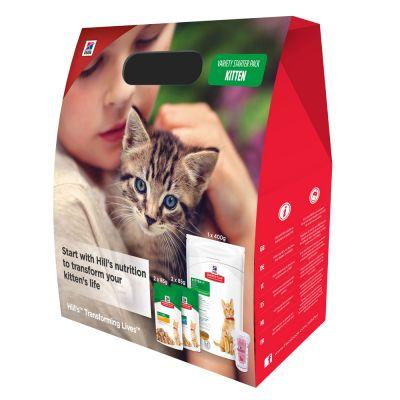 Hill's Science Plan Kitten -ensipakkaus - 400 g + 4 x 85 g