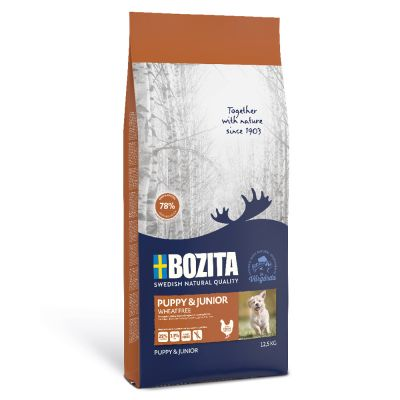 Bozita Puppy & Junior Wheat-Free - 12,5 kg