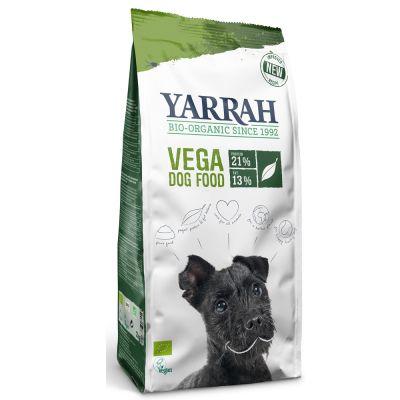 Yarrah pienso vegano y ecológico para perros - 2 x 10 kg - Pack Ahorro
