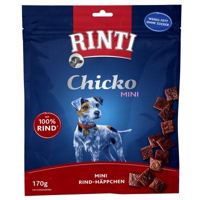 Rinti Chicko Mini láminas para perros - Vacuno (170 g)