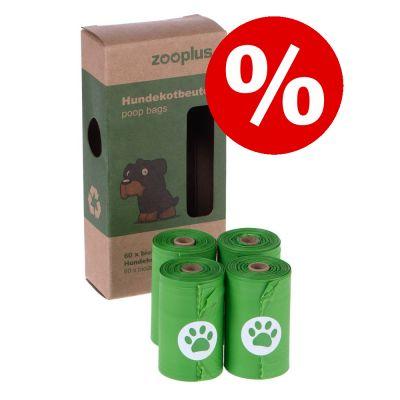zooplus-koirankakkapussit tai pussiteline erikoishintaan! - kakkapussiteline + rulla: 1 rulla, 20 pussia