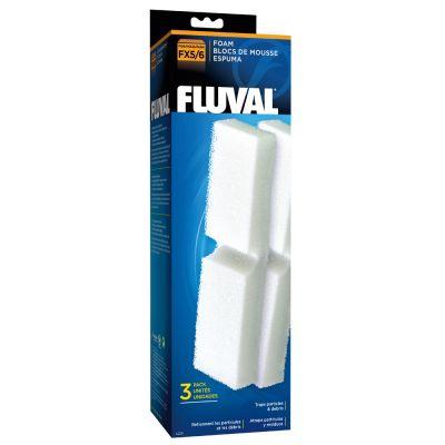 Fluval-esisuodatinsieni - 3 kpl FX4/5/6 -suodattimiin