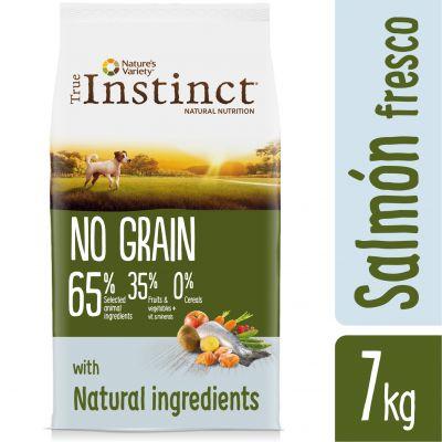 Nature's Variety True Instinct No Grain Mini con salmón  - 2 x 7 kg - Pack Ahorro