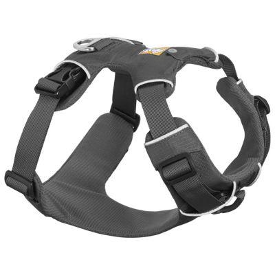 Ruffwear Front Range Harness -koiranvaljaat, harmaa - Front Range Leash -talutushihna P 150 cm x L 20 mm