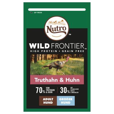 Nutro Wild Frontier Adult Large kalkkuna ja kana – 12 kg