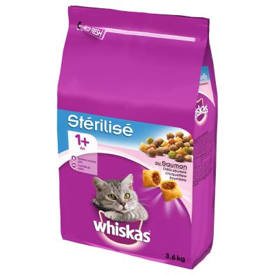 Whiskas Sterile Adult 1+ Salmon - 3,6 kg