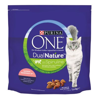 Purina ONE Dual Nature Salmon - 4 x 1,4 kg