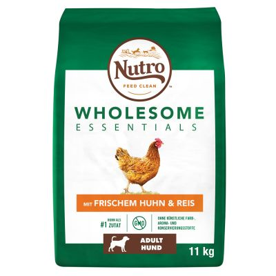 Nutro Wholesome Essentials Adult Chicken & Rice - 2 x 11 kg