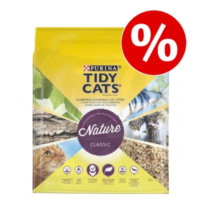 Purina Tidy Cats Nature Classic erikoishintaan! - 30 L