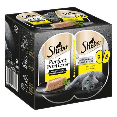 Levně Výhodné balení Sheba Perfect Portions 48 x 37,5 g - Hovězí