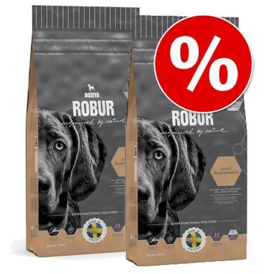 Bozita Robur -säästöpakkaus - 2 x 14 kg Sensitive Grainfree Reindeer