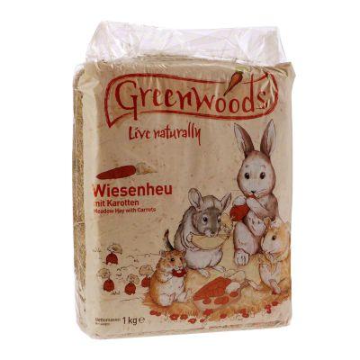 Greenwoods Siano łąkowe, 1 kg - Dzikie jabłko, 1 kg