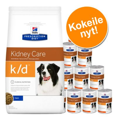 Yhteispakkaus: Hill's Prescription Diet Canine -kuiva- ja märkäruoka - i/d Digestive Care