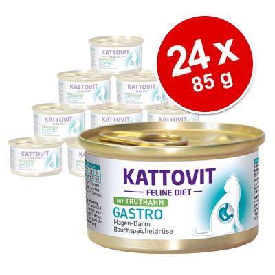 Ekonomipack: Kattovit Gastro 24 x 85 g - Anka