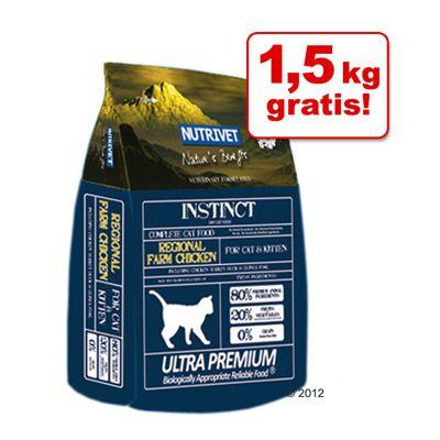4,5 + 1,5 kg gratis! 6 kg Nutrivet - Inne Cat Kitten