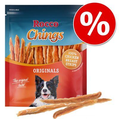 Rocco Chings Originals -säästöpakkaus - kuivattu kananrinta 12 x 250 g