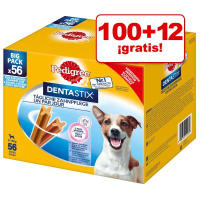 Pedigree Dentastix 112 uds. en oferta: 100 + 12 ¡gratis! - Dentastix Fresh para perros grandes