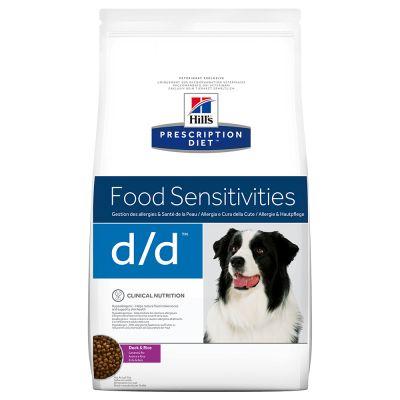 Hill's Prescription Diet Canine d/d Food Sensitivities - ankka-riisi - 12 kg