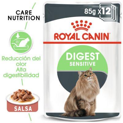 Royal Canin Digest Sensitive en salsa - 12 x 85 g