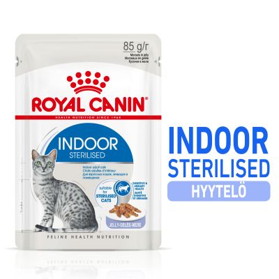 Royal Canin Indoor Sterilised in Jelly - 24 x 85 g