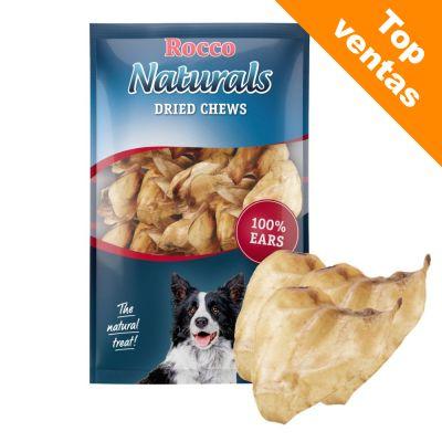 Rocco Naturals snacks de orejas de buey naturales para perros - 3 x 10 unidades