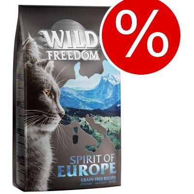 2 + 1 på köpet! 3 x 2 kg Wild Freedom torrfoder katt - Cold River - Salmon