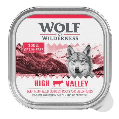 "Wolf of Wilderness Adult Schale ""High Valley"" - Rind"
