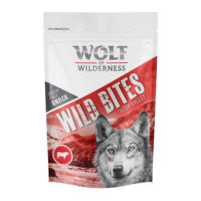 "Wolf of Wilderness Snack Wild Bites ""High Valley"" - Rind"