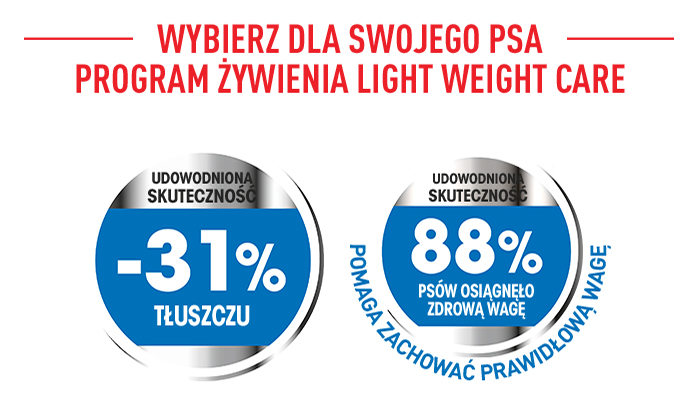 Light Weight Care Royal Canin - program żywienia