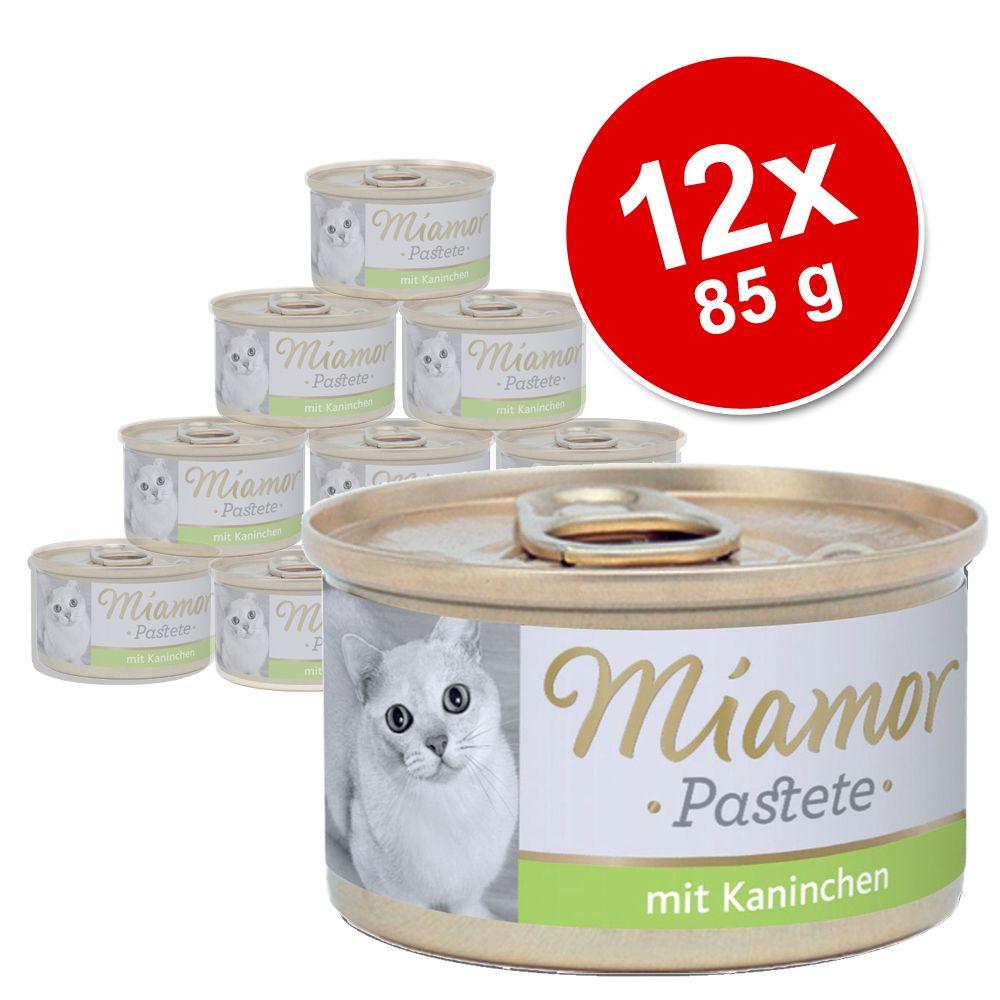 Sparpaket Miamor Pastete 12 x 85 g - Geflügelherzen