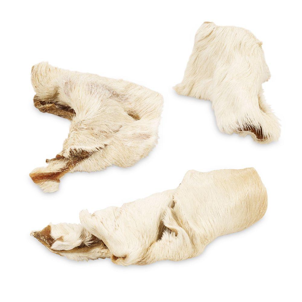 435g Peaux de bœuf avec poils (9 friandises environ) Wolf of Wilderness - Friandises pour chien