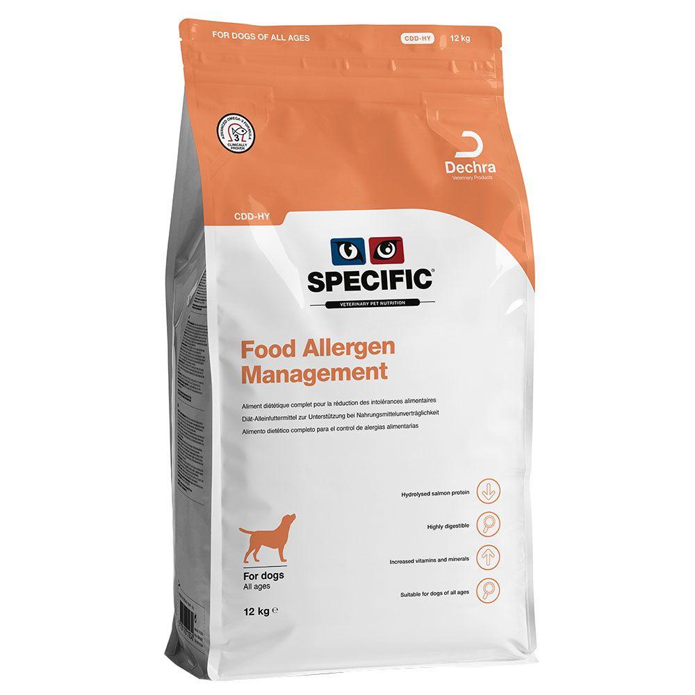 Specific Dog CDD - HY Food Allergen Management Ekonomipack: 2 x 12 kg