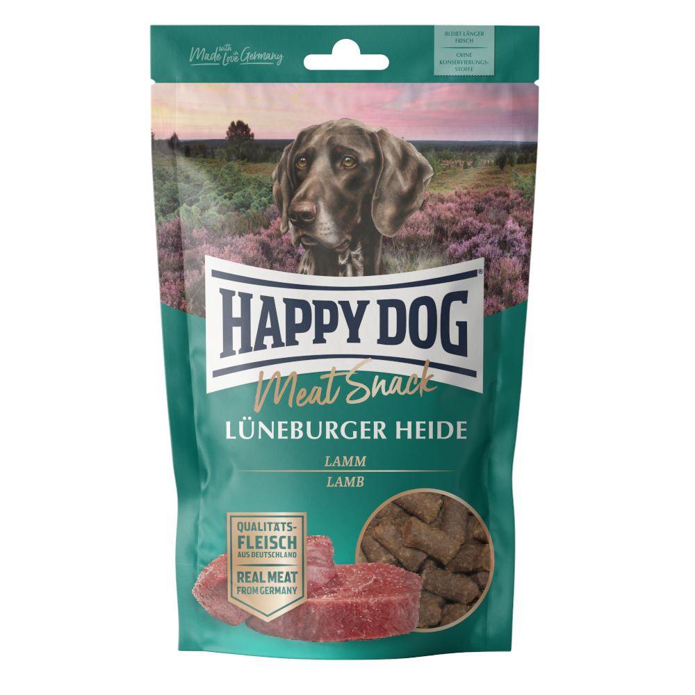 6x75g Happy Dog Meat Snack Agneau et pommes de terre, - Friandises pour chien