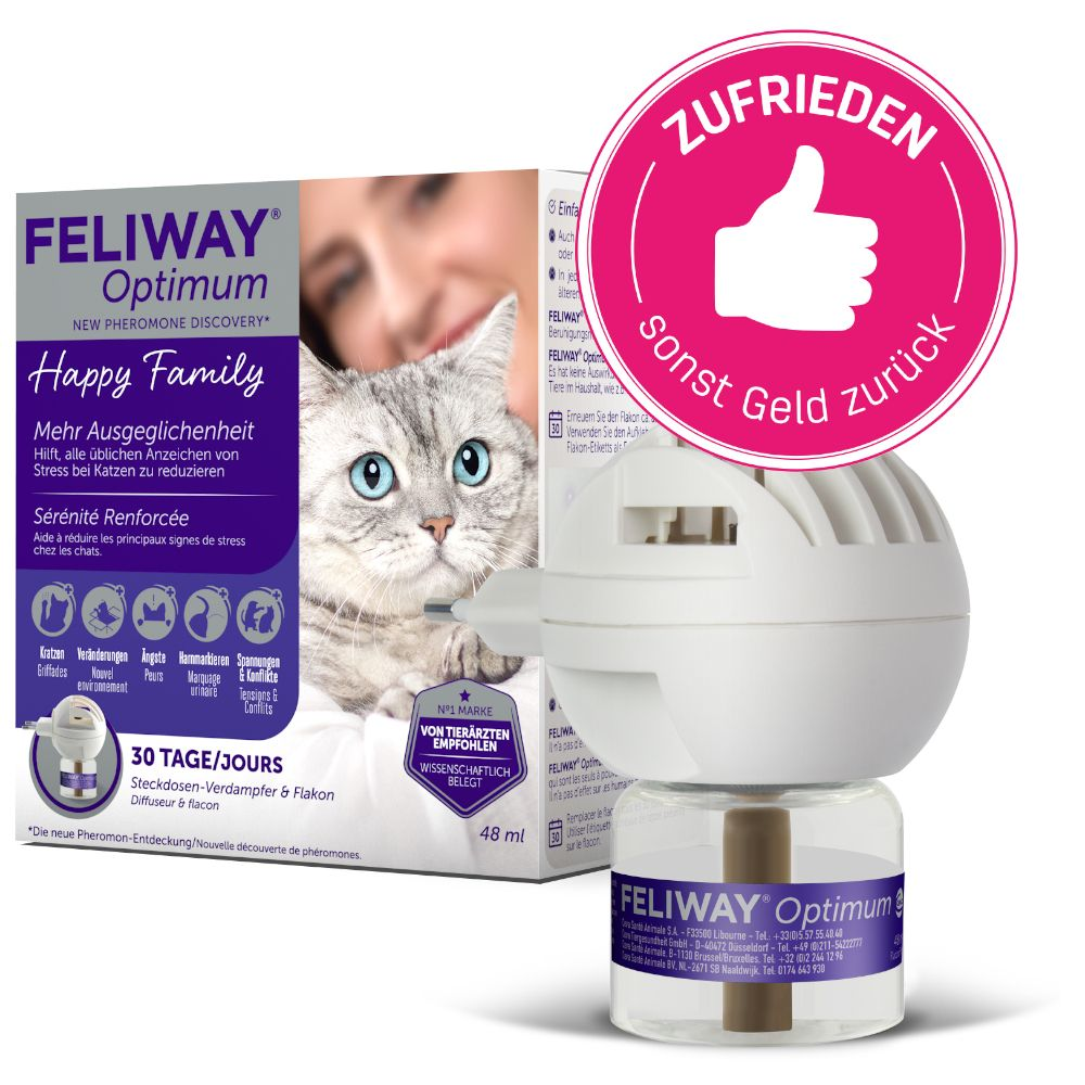 Feliway® Optimum - Starter Set (doftavgivare + flaska 48 ml)