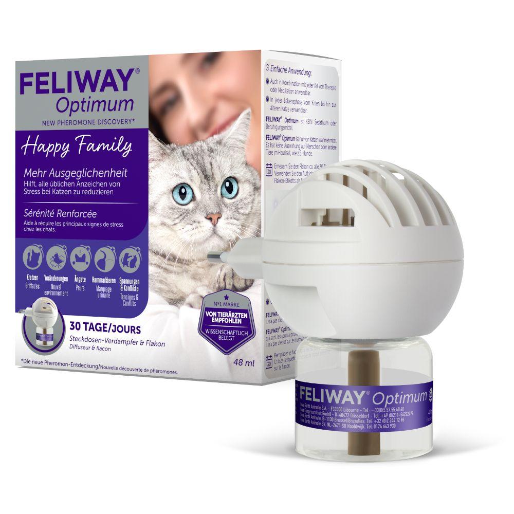 Feliway® Optimum - Starter Set (Verdampfer + Flakon 48 ml)