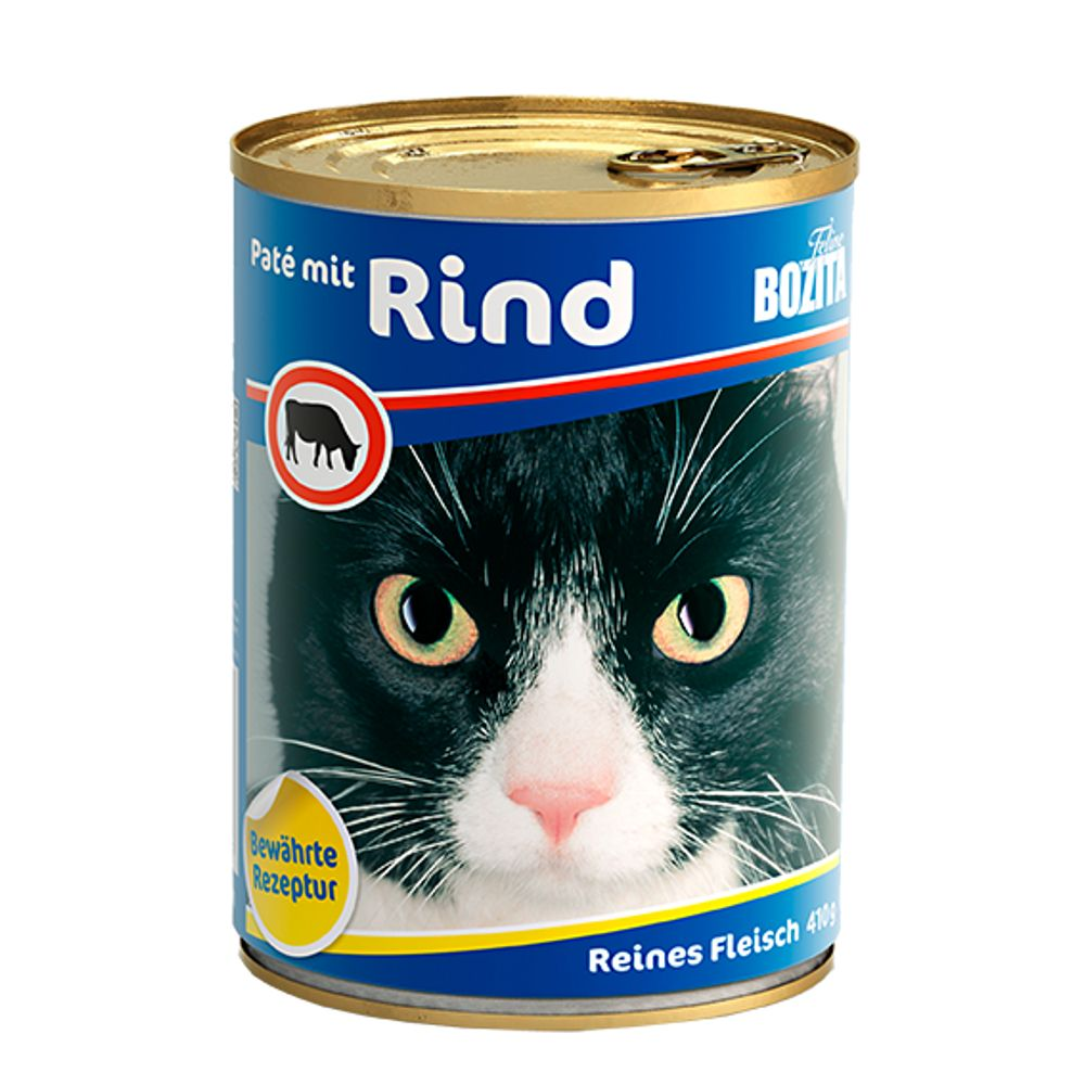 Beef Canned Food Bozita Wet Cat Food