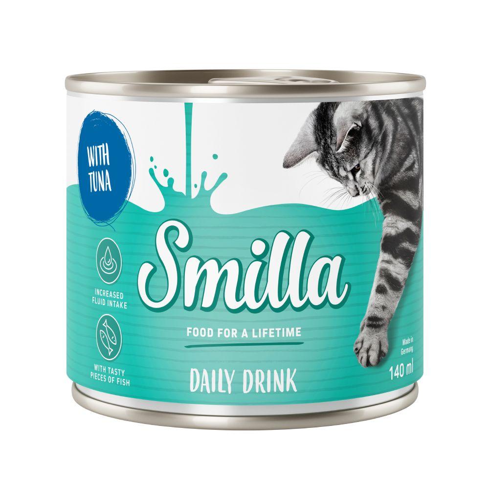 Smilla Daily Drink kattdryck med tonfisk 6 x 140 ml