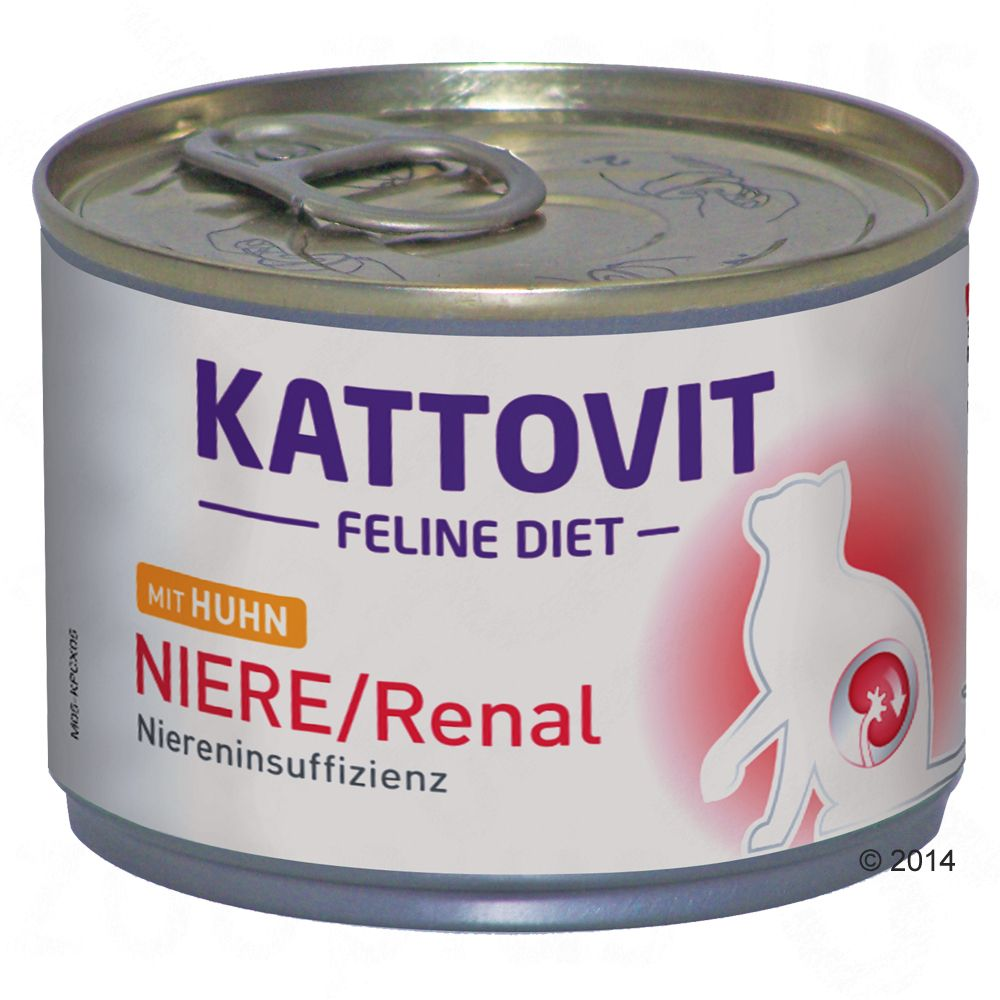 12x185g Veal Urinary Kattovit Wet Cat Food