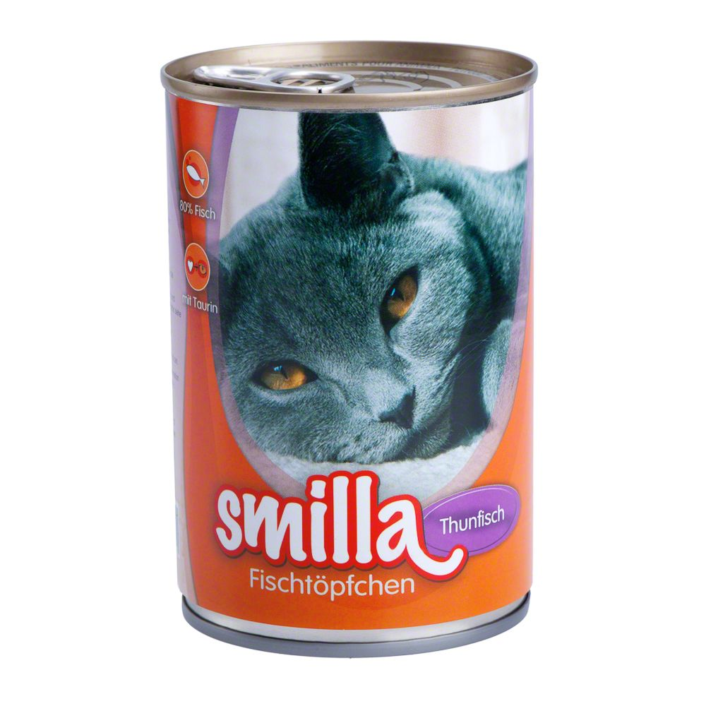 Smilla Tender Fish & Poultry Saver Pack 12 x 400g - Tuna with Sardines
