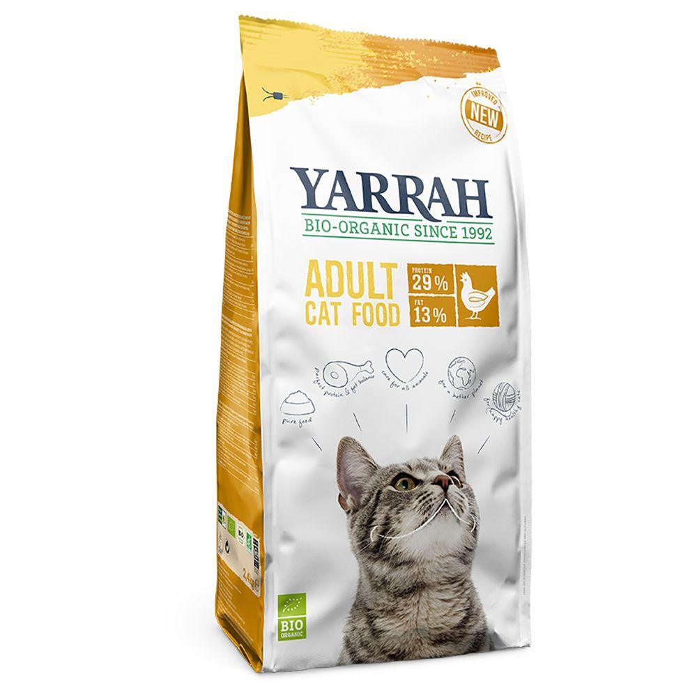 800g Yarrah bio, poulet offre d'essai - Croquettes pour chat