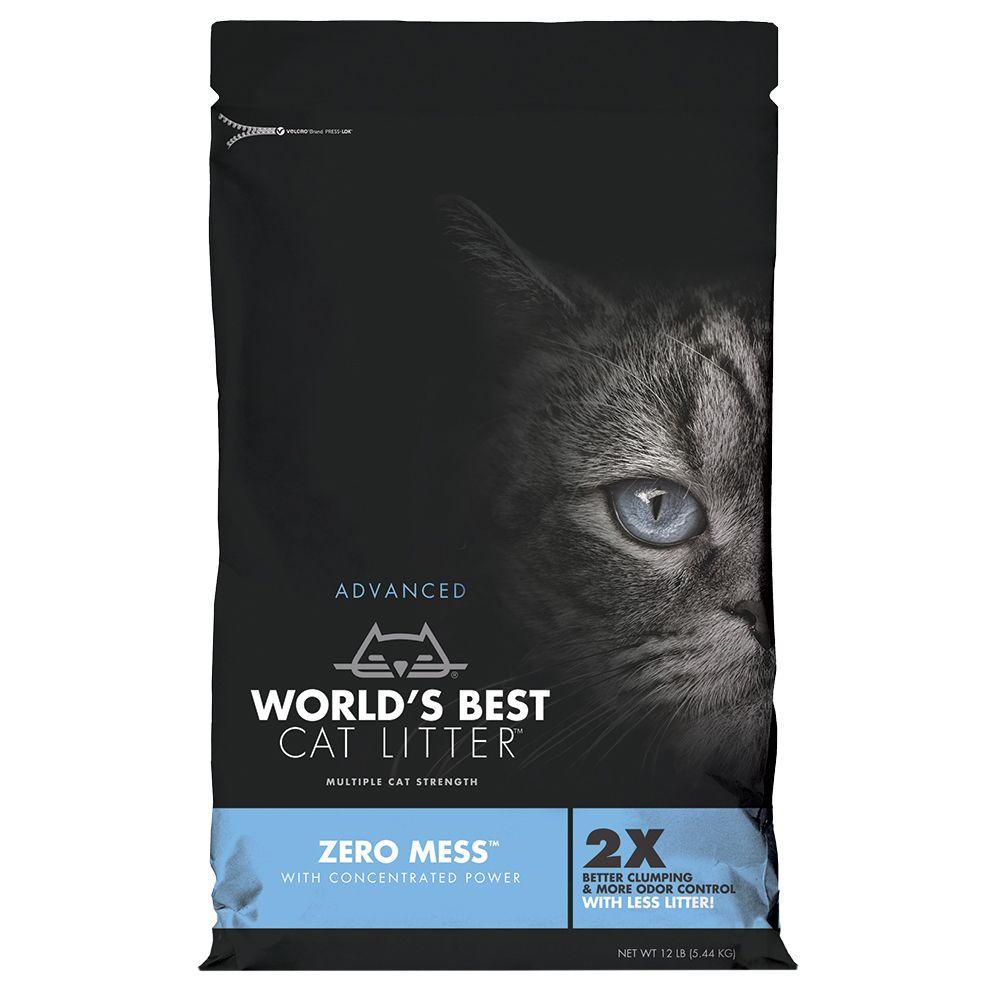 Worlds Best Cat Litter Zero Mess kattströ - 10,89 kg