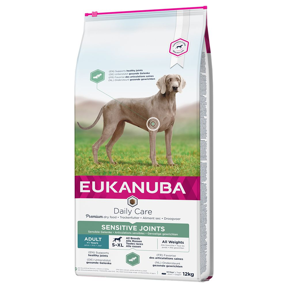 Eukanuba Daily Care Adult Sensitive Joints - Economy Pack: 2 x 12kg