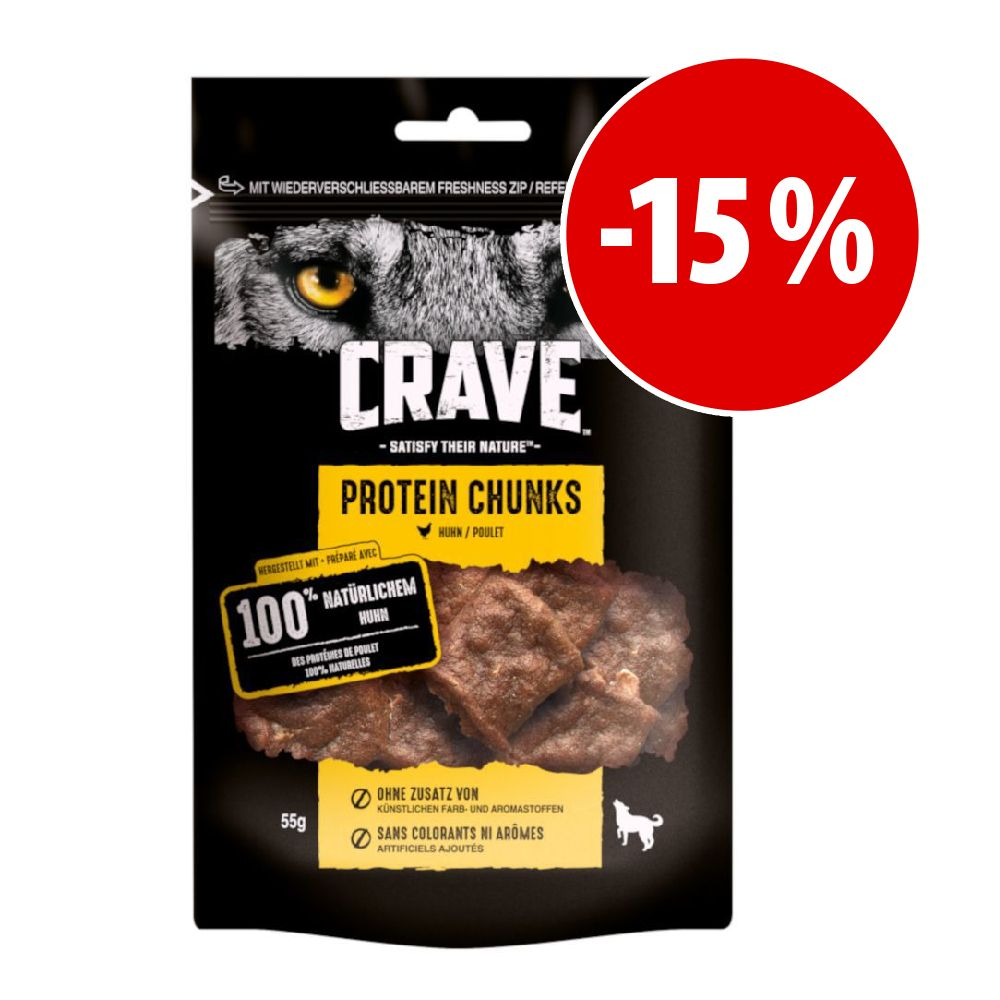Image of Crave Protein Chunks - 55 g Pollo