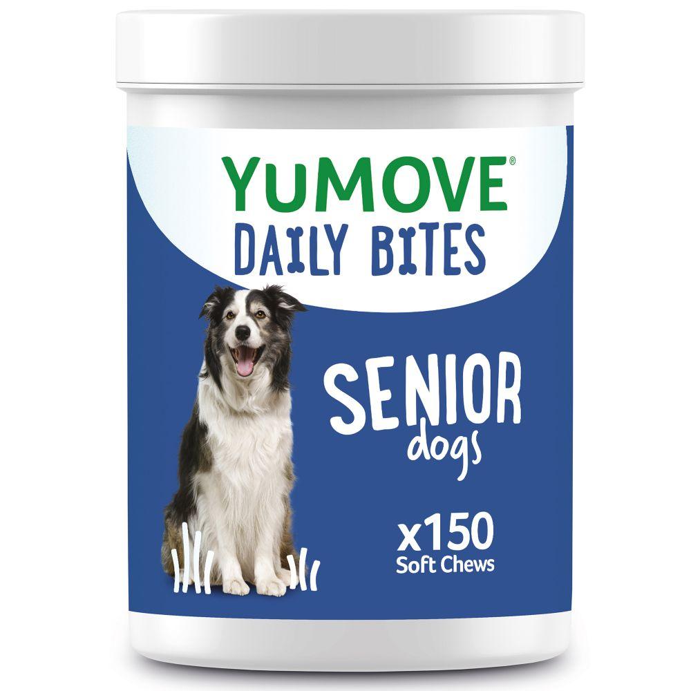 Lintbells YuMOVE Daily Bites for Senior Dogs - 150 Chews