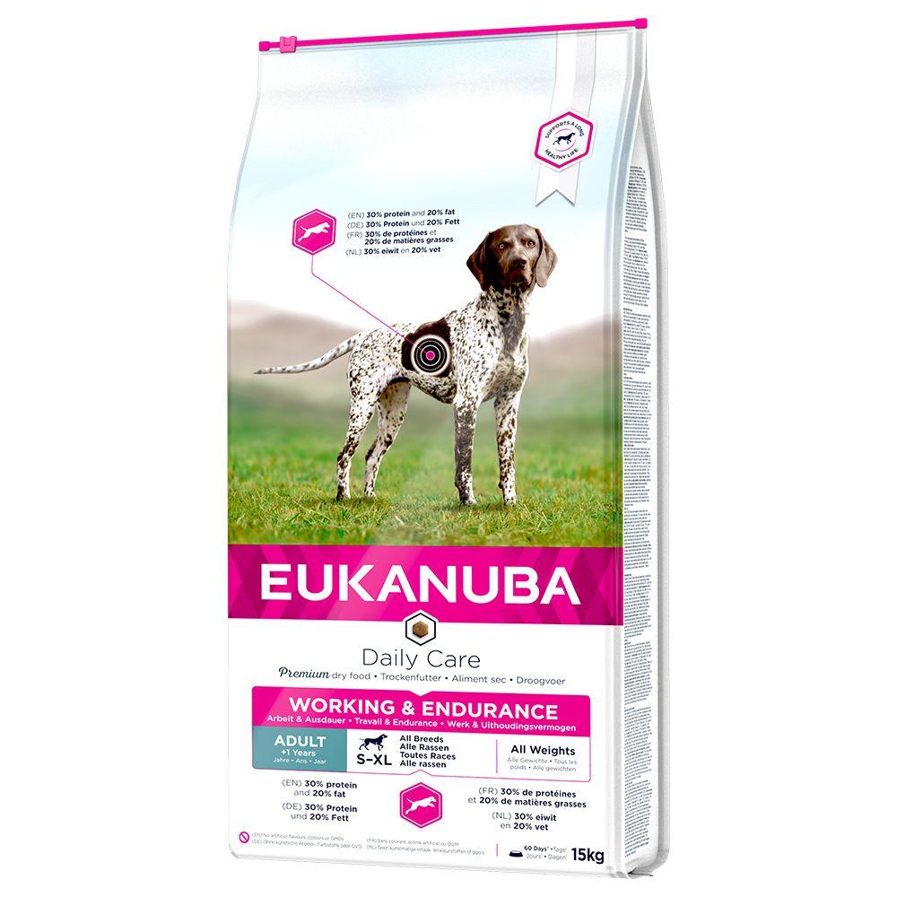 Eukanuba Daily Care Adult Working & Endurance  - Economy Pack: 2 x 15kg