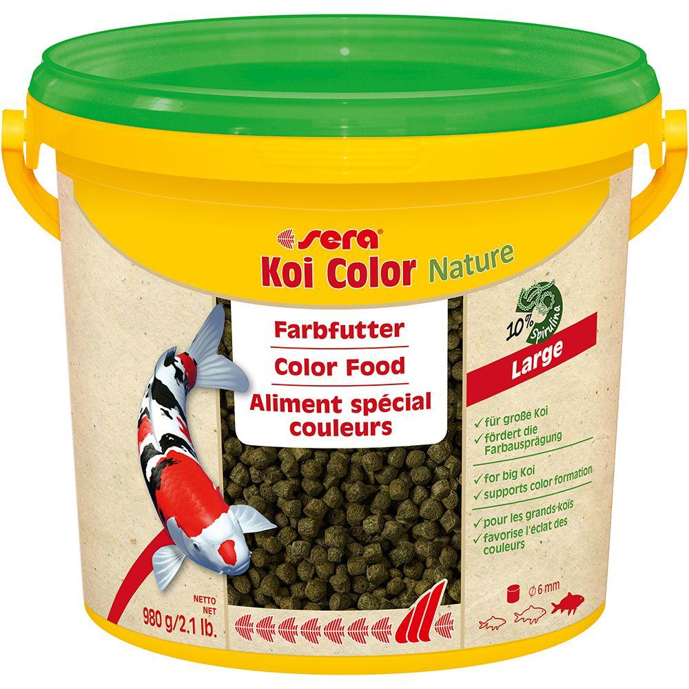 Sera Koi Color large Granulat - 2 x 3800 ml